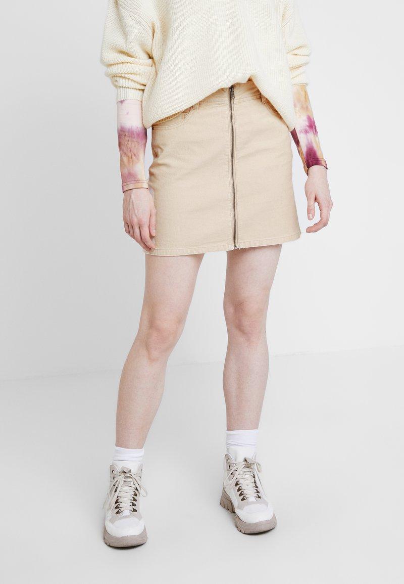 Roxy - MAJOR CHANGE - A-line skirt - ivory cream