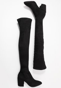 Steve Madden - JANEY - Over-the-knee boots - black - 3