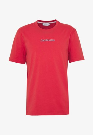 SHADOW LOGO  - T-shirts print - red