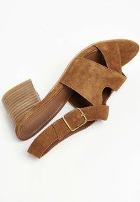 White Sun - MADINA  - Sandals - camel - 4