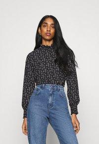 ONLY - ONLZILLE NAYA SMOCK - Long sleeved top - black/lavender - 0