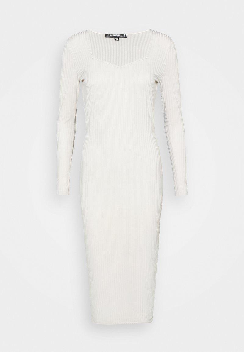 Missguided Petite - MIDAXI DRESS - Jersey dress - light grey