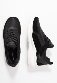 Anna Field - LEATHER - Sneakers laag - black - 3
