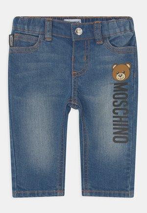 TROUSERS UNISEX - Slim fit jeans - blue denim