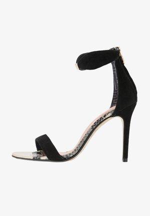 AURELIS - Højhælede sandaletter / Højhælede sandaler - black