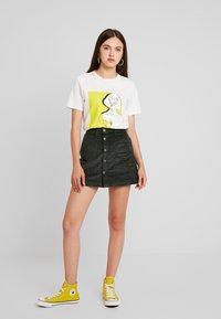 ONLY - ONLAMAZING SKIRT - A-line skirt - green gables - 1