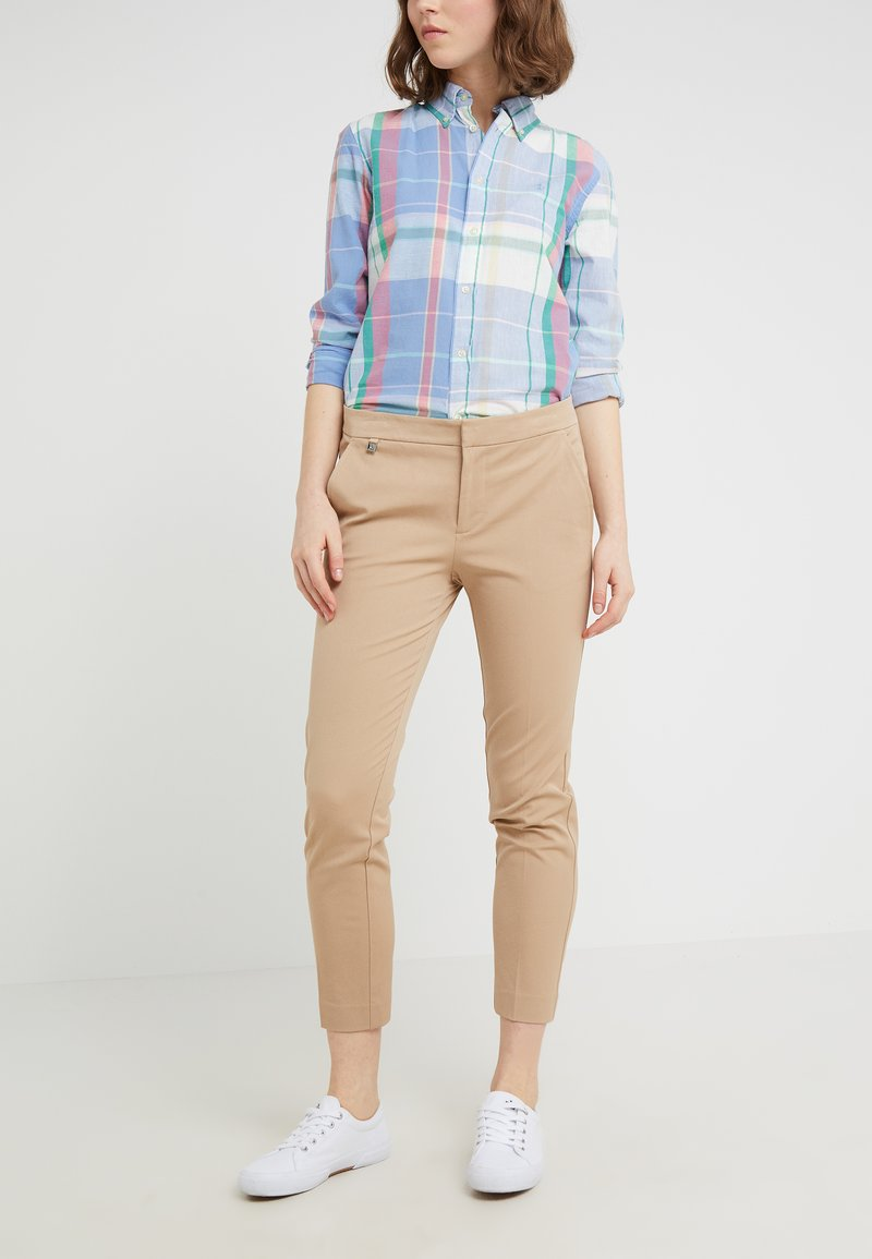 Lauren Ralph Lauren - LYCETTE PANT - Trousers - birch tan