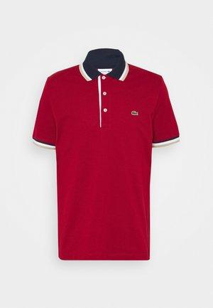 Koszulka polo - alizarin/navy blue/white viennese