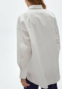 Massimo Dutti - Button-down blouse - white - 2