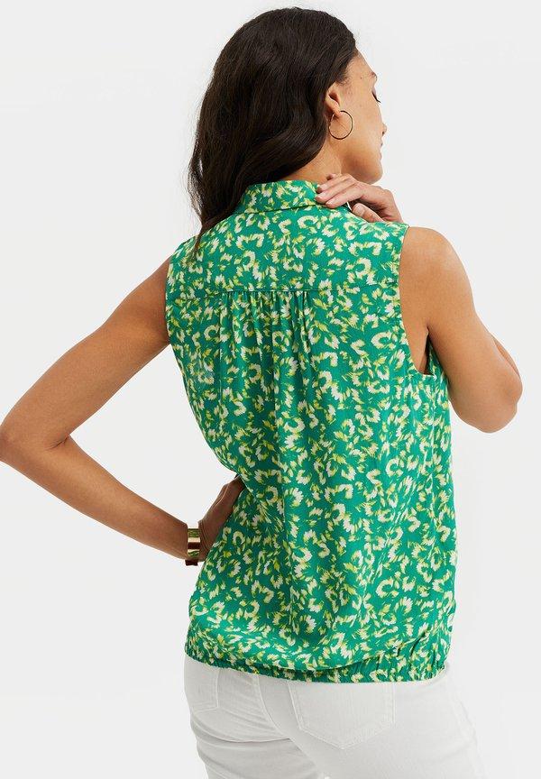 WE Fashion DAMES SINGLET MET DESSIN - Bluzka - all-over print Nadruk Odzież Damska SBCN IZ 2
