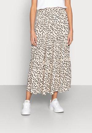 SKIRT DION - Maxi skirt - black