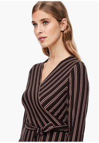 s.Oliver BLACK LABEL - Maxi dress - brown stripes