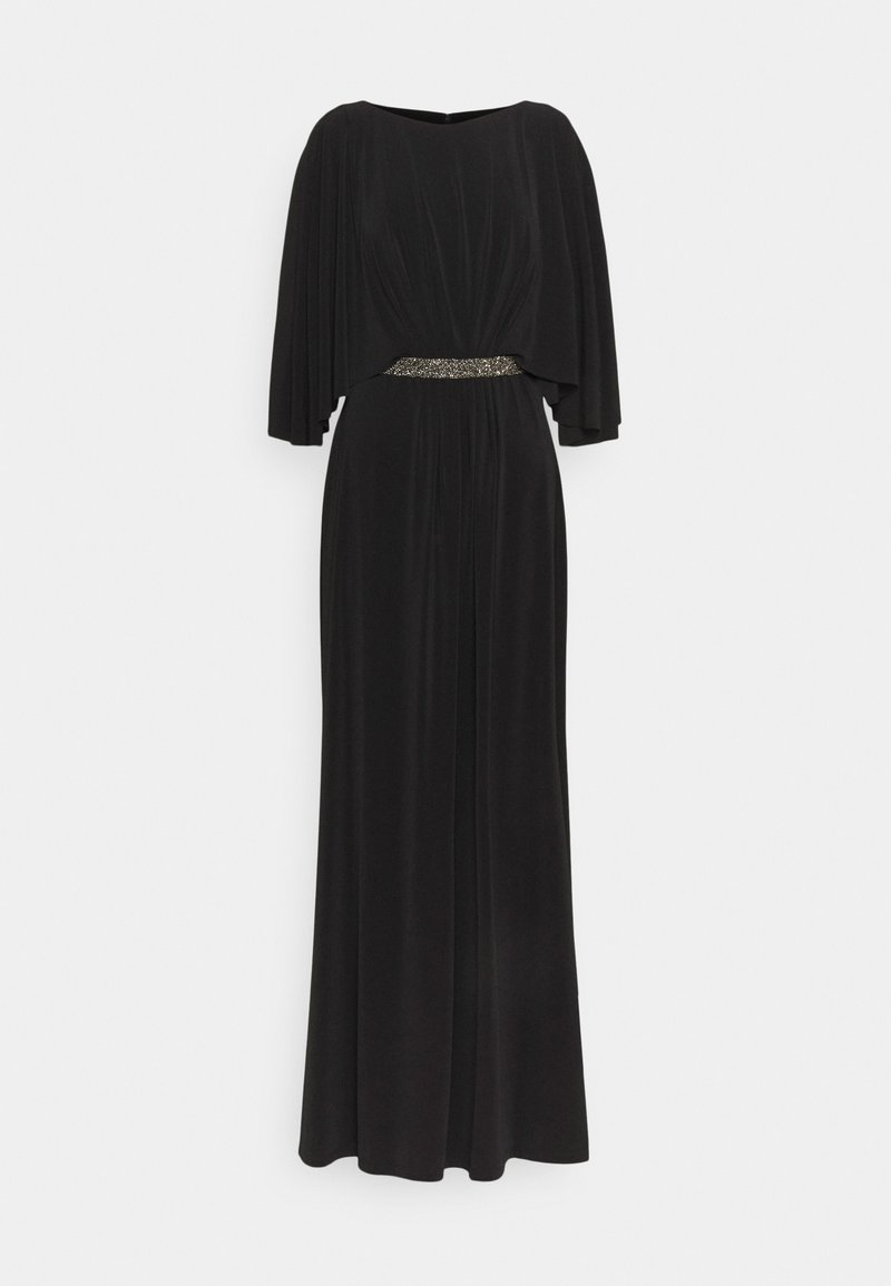 Lauren Ralph Lauren - CLASSIC LONG GOWN TRIM - Occasion wear - black