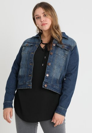 LONG SLEEVE - Denim jacket - blue denim