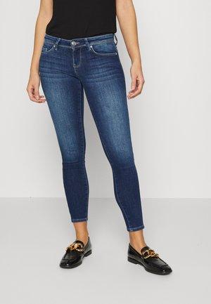 ONLCORAL LIFE - Jeans Skinny Fit - dark blue denim