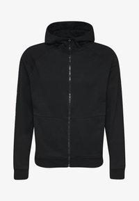 Hummel - HMLSCORPIUS  - Zip-up hoodie - black - 4