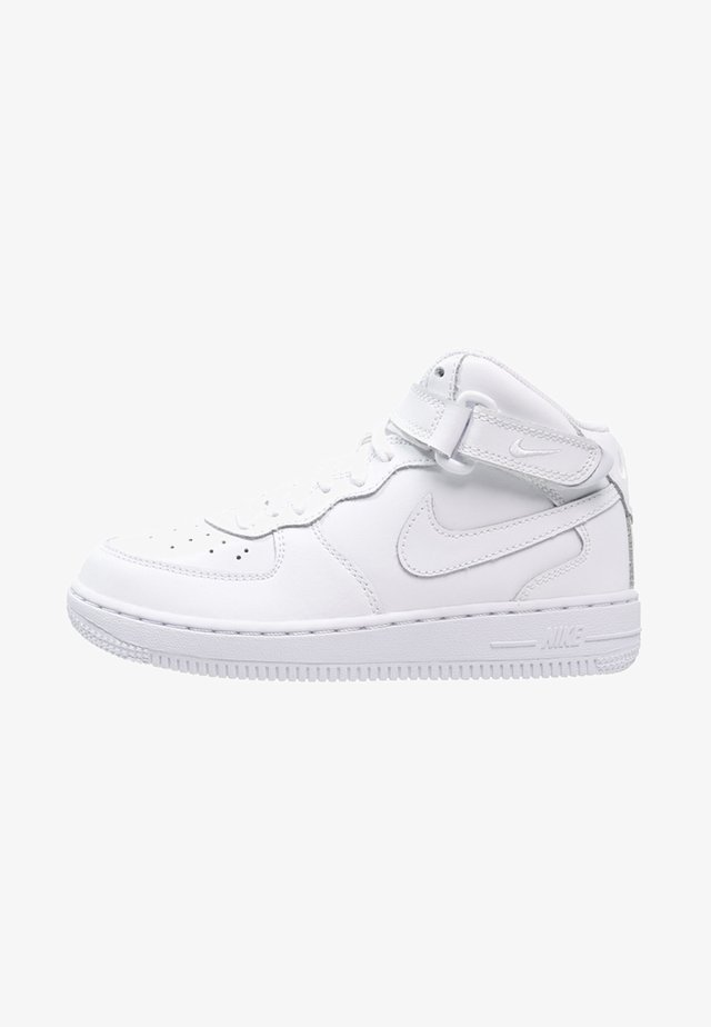 AIR FORCE 1 MID - Sneakersy wysokie - white