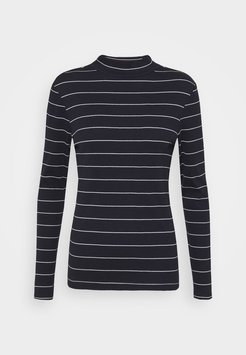s.Oliver - LANGARM - Long sleeved top - dark blue