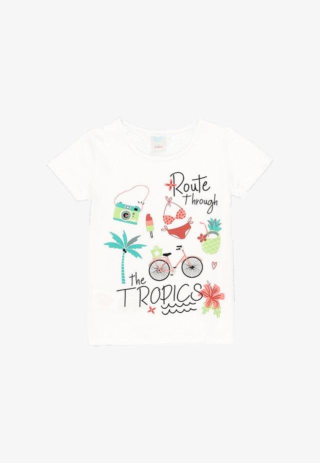 SET - Kalhoty - white