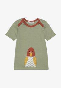 Sense Organics - TOBI BABY - T-shirt print - olive - 2