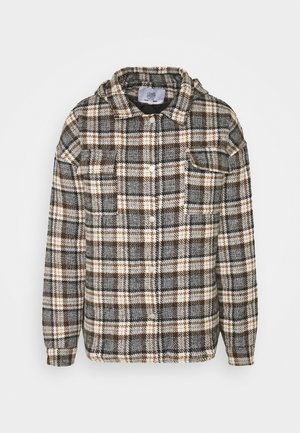 TARTAN JACKET - Light jacket - brown
