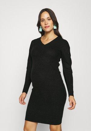 MLLINA DRESS - Gebreide jurk - black