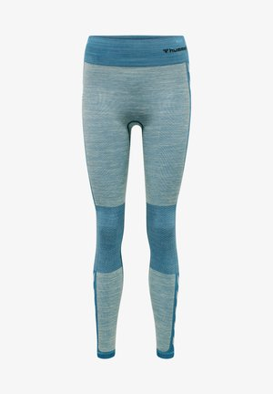 Tights - blue coral/marshmallow