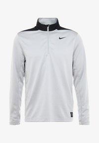Nike Golf - DRI-FIT HERREN GOLFOBERTEIL MIT HALBREISSVERSCHLUSS - Funktionströja - wolf grey/pure platinum/black - 5