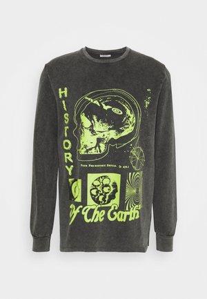 HISTORY LONG SLEEVE UNISEX - Sweatshirt - black