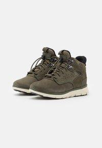 Timberland - KILLINGTON - Šněrovací kotníkové boty - dark green - 1