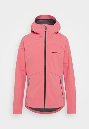 ADVENTURE HOOD JACKET - Outdoorjacke - alpine flower