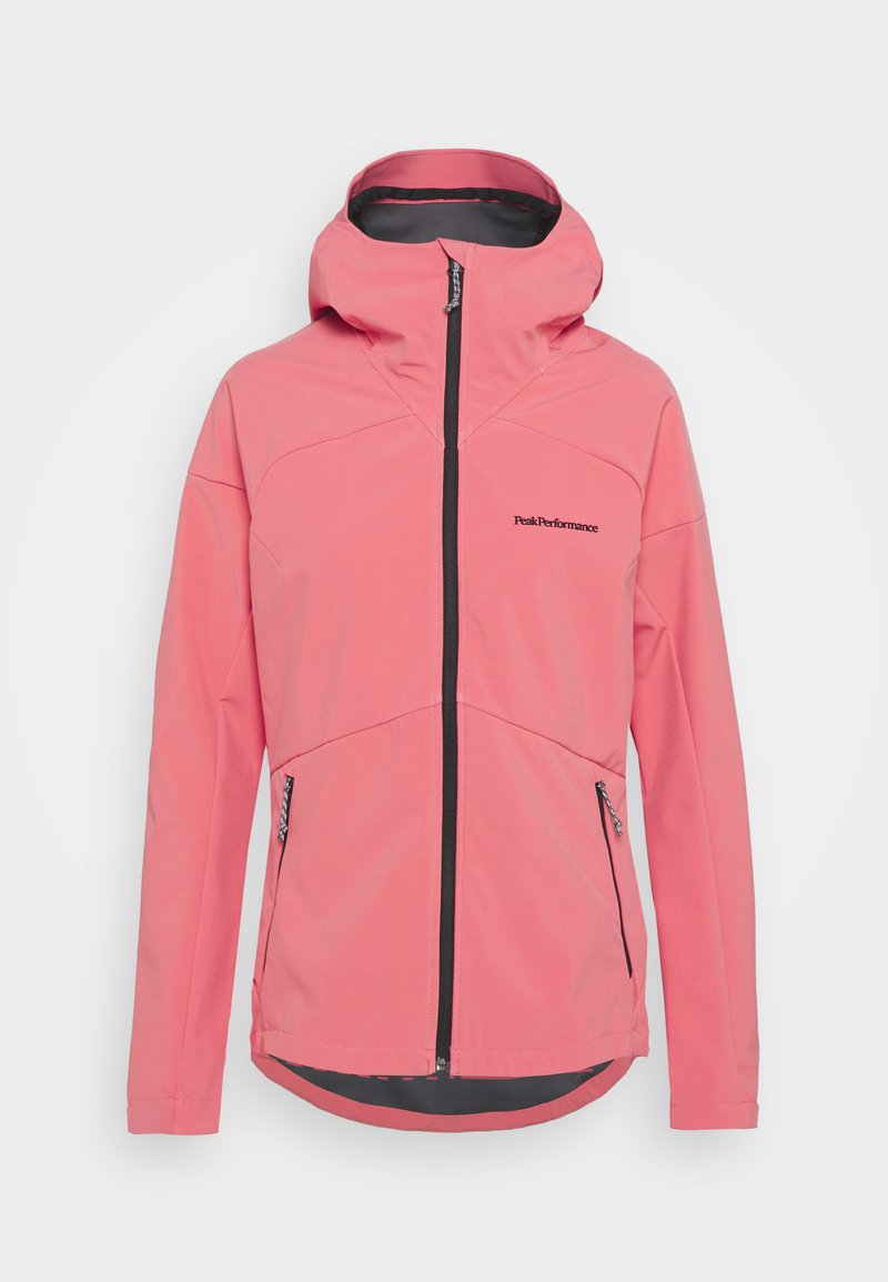 Peak Performance - ADVENTURE HOOD JACKET - Outdoor jacket - alpine flower