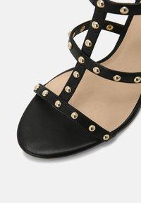 Cosmoparis - HILENIA - High heeled sandals - noir - 7