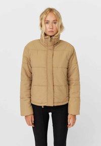 Stradivarius - Winter jacket - light brown - 0