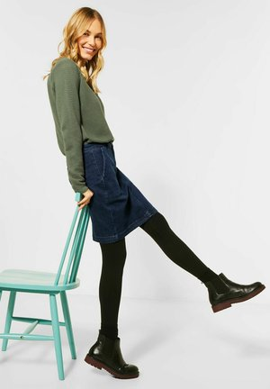 Denim skirt - blau