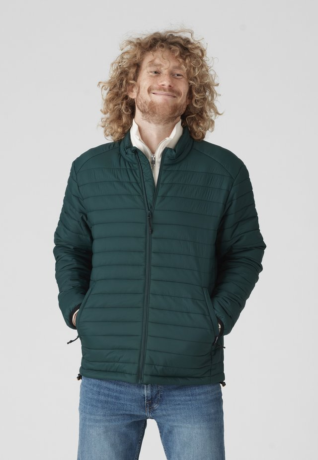 SHELTER LINER  - Down jacket - frosted gre