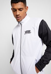 Vans - WINNER'S CIRCLE TRACK JACKET - Training jacket - black/white