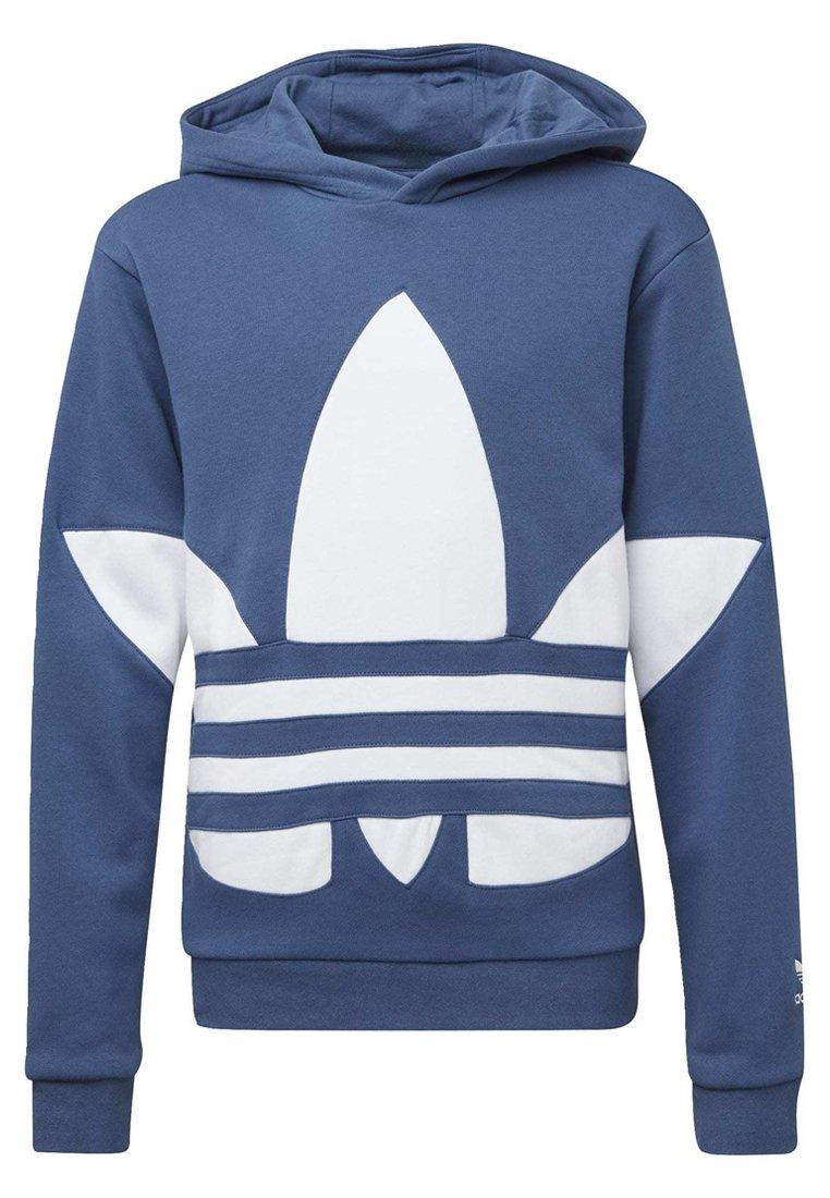 adidas Originals BIG TREFOIL HOODIE Kapuzenpullover blue