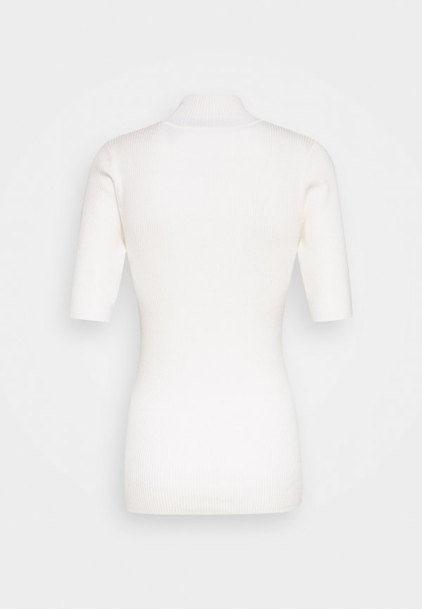 Kaffe KANAINA ASTRID - T-shirt basic - chalk Kolor jednolity Odzież Damska RKXR AV 8