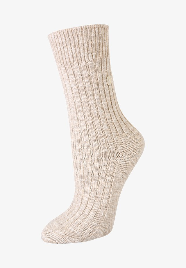 SLUB  - Socks - beige/white