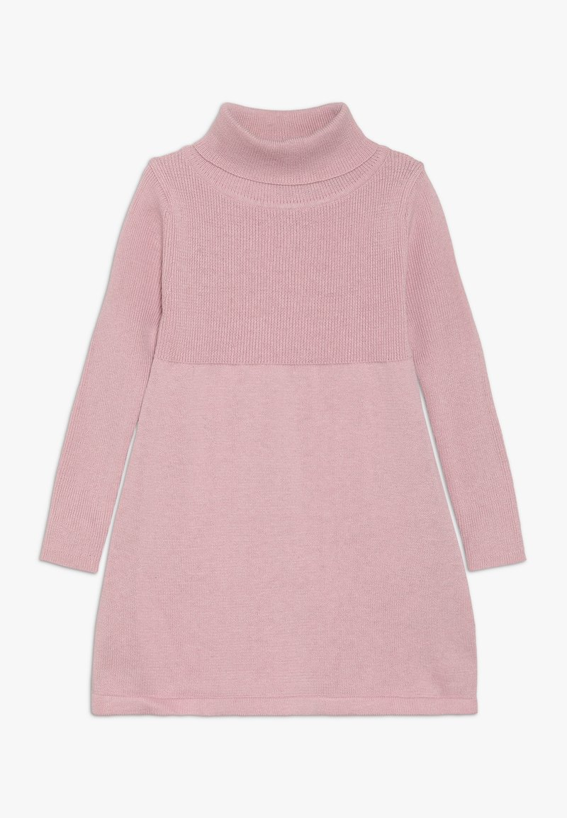 Blue Seven - KIDS ROLLNECK DRESS - Robe pull - blush