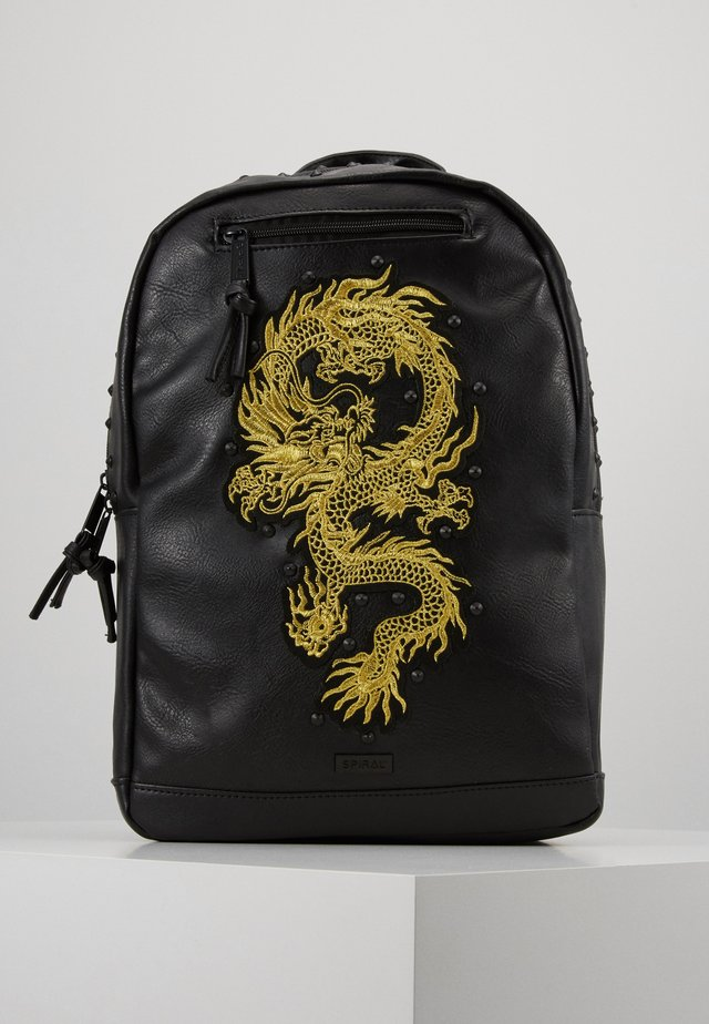 DRAGON LUXE - Mochila - black