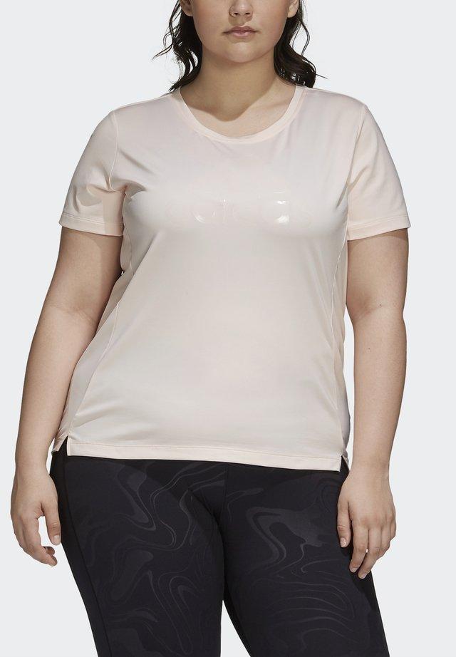 GLAM ON BOS TEE - Sports shirt - pnktin