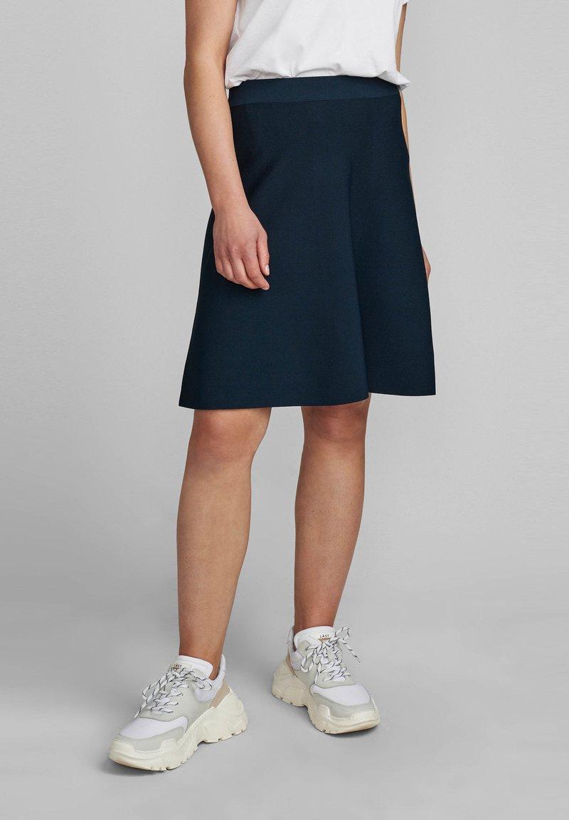 Nümph - NULILYPILLY  - A-line skirt - dark sapphire