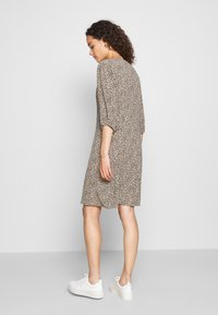 Modström - EMILY PRINT DRESS - Day dress - light brown - 2