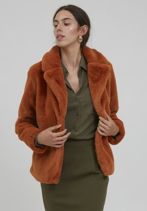 Winterjas - bombay brown