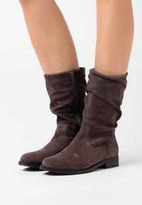 Apple of Eden - GIGI - Boots - dark grey - 0