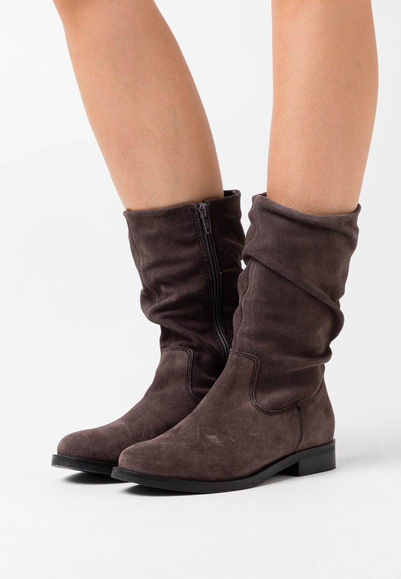 Apple of Eden - GIGI - Boots - dark grey