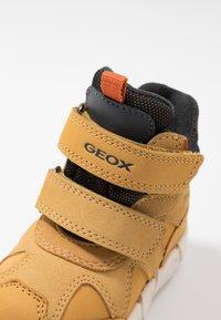 Geox - FLEXYPER BOY ABX - Winter boots - biscuit - 2
