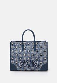 MCM - VINTAGE TOTE LARGE SET UNISEX - Handbag - blue - 0
